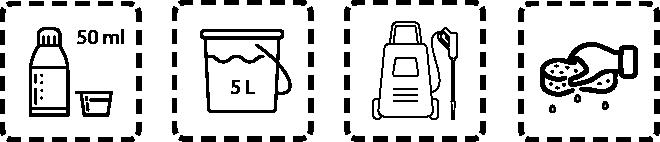 Autoshampoo Dosierungsempfehlung