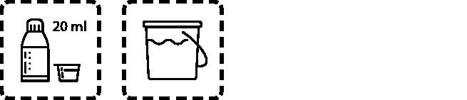 Glasrein Dosierungsempfehlung