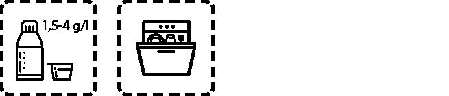 Spülmaschinenreiniger GSM C Dosierungsempfehlung