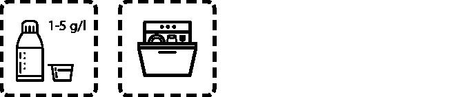 Spülmaschinenreiniger GSM L Dosierungsempfehlung