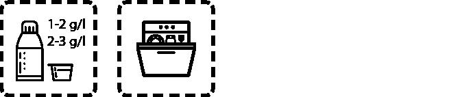 Dishwashing Agent GSM P Dosage recommendation