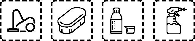 Teppich Sprühextraktions-Reiniger Dosierungsempfehlung