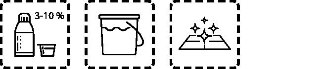 WC-Clean-Plus Dosierungsempfehlung
